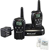 Midland - LXT500VP3, 22 Channel FRS Walkie Talkies with Channel Scan - Extended Range Two Way Radios, Silent Operation…
