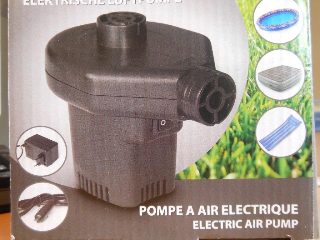/& Abpumpen Luftmatratze Camping Elektrische Luftpumpe f/ür schnelles Auf
