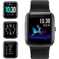 Smartwatch, Reloj Inteligente Impermeable IP68 con Monitor