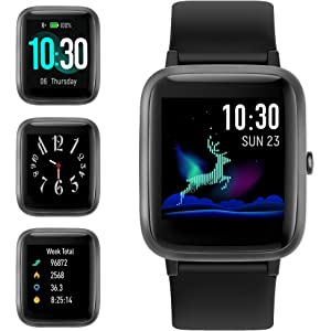 Zeblaze Crystal 2 Smart Watch 1.29-Inch IPS Color Display ...