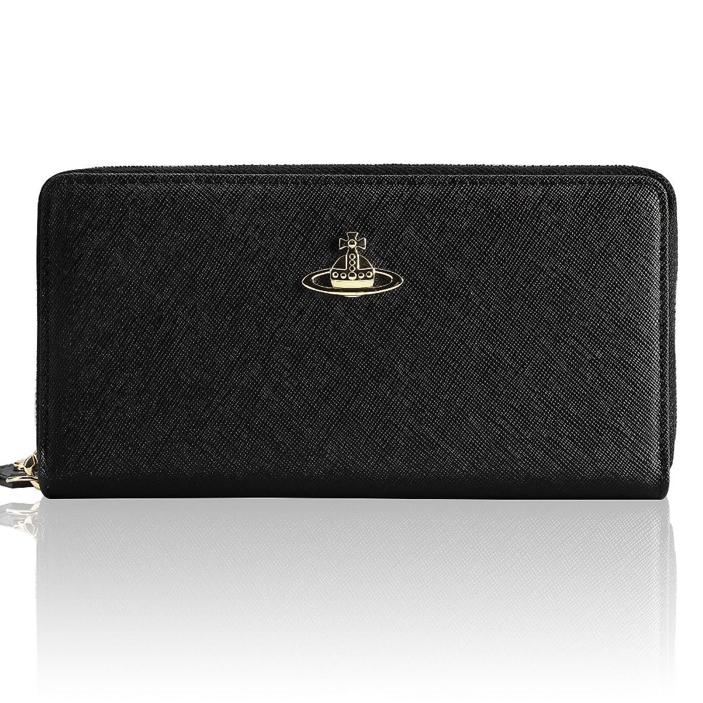 Vivienne Westwood ヴィヴィアンウエストウッド財布 長財布 [並行輸入品] (55306, BLACK) B071NFJYYH
