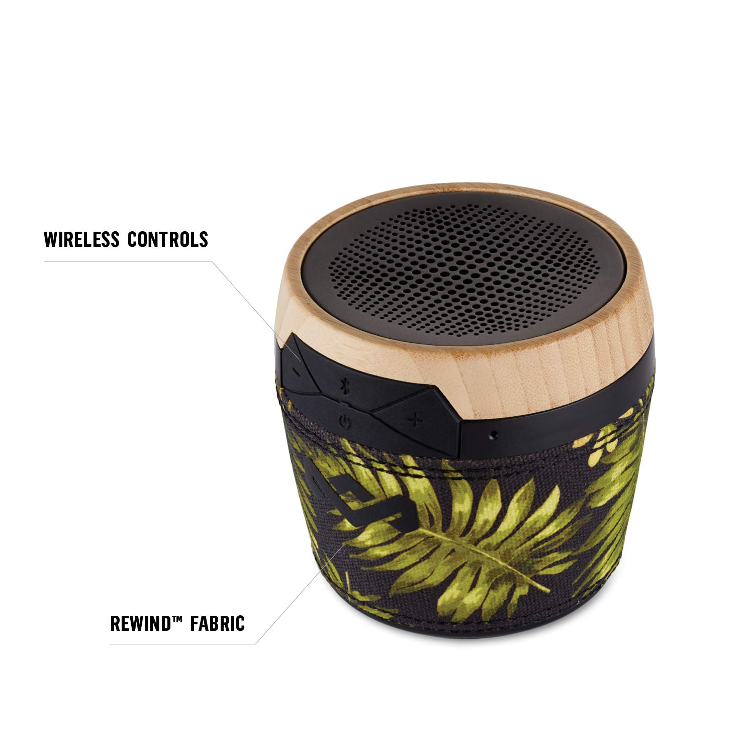 House of Marley Chant Mini Altavoz Bluetooth, 6 Horas de reproducción, 3W Flores: Amazon.es: Electrónica