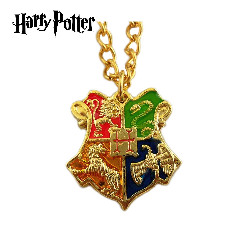 Harry Potter Collar colgante oro casa Crests películas ...