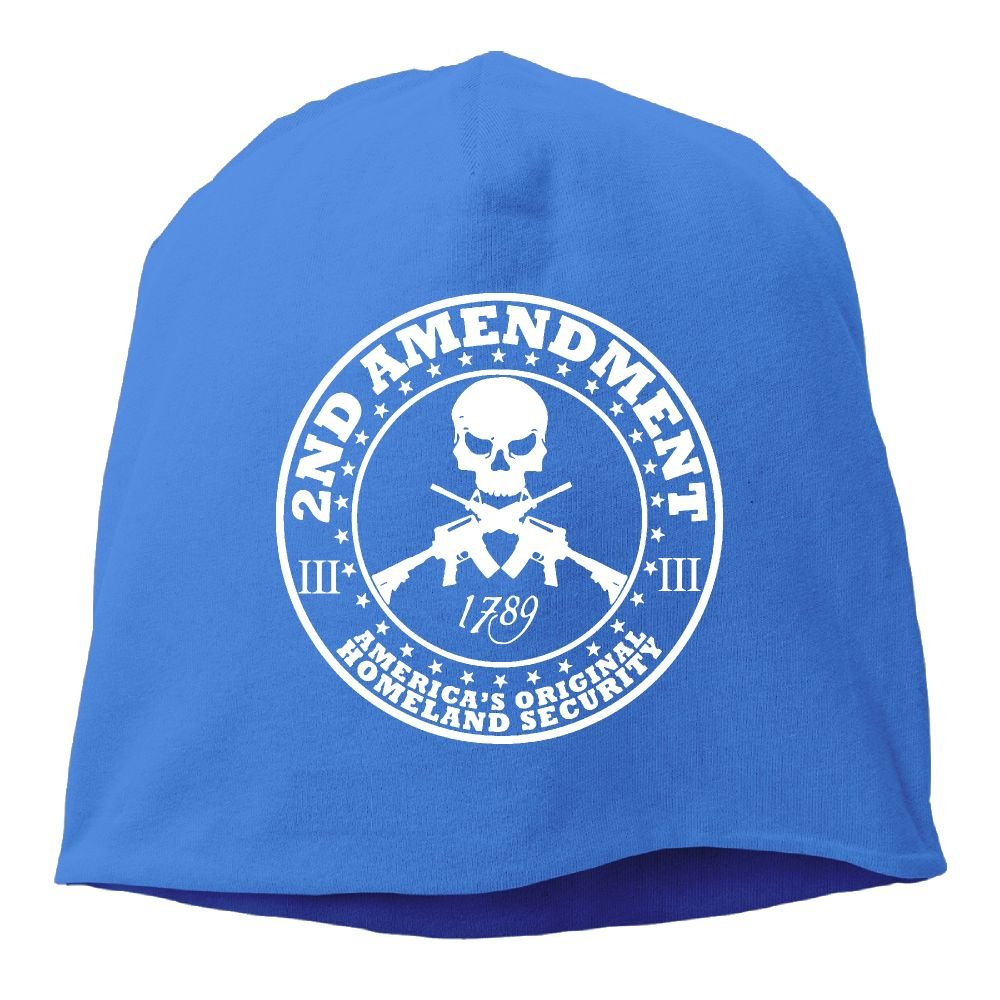 2nd Amendment Skull Knit Cap