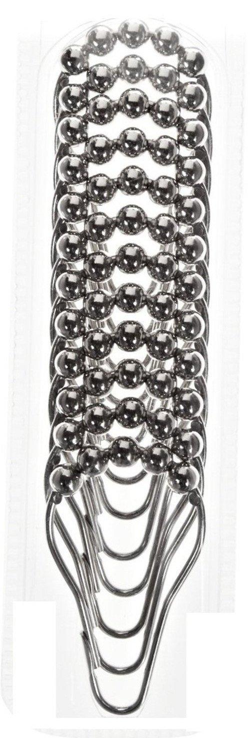 Coolcase Pack de 12 argollas para sujetar cortinas de ducha