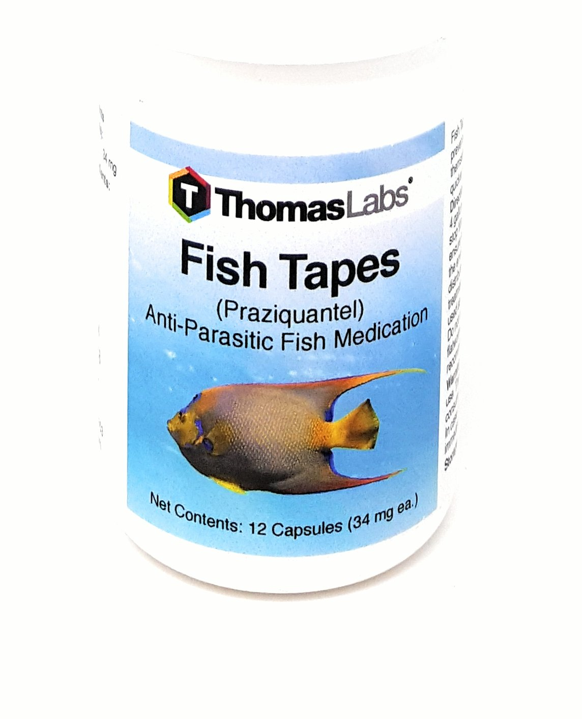 amazon com fish tapes capsules 34 mg by thomas labs health