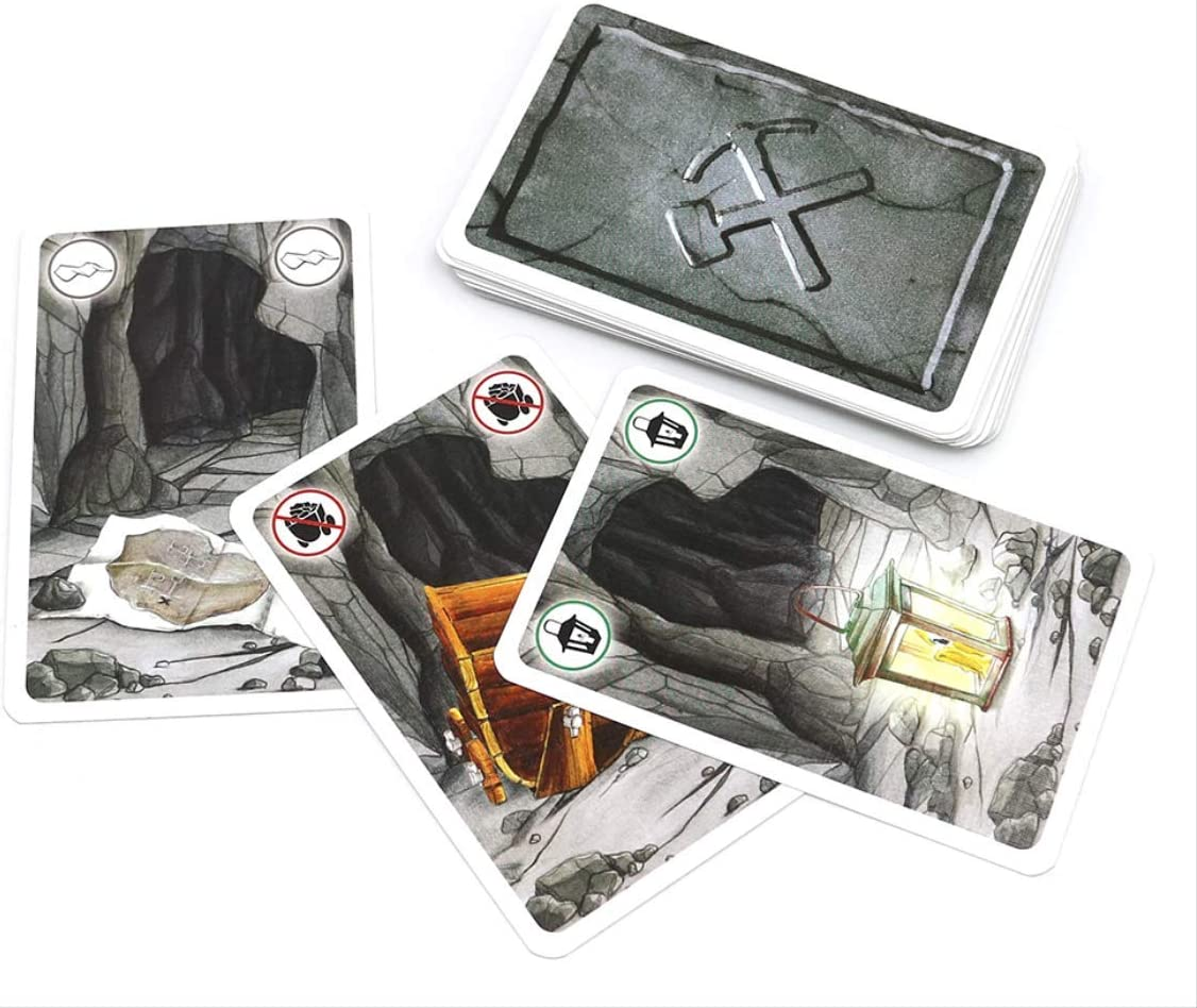 YPF Saboteur 1 & Saboteur 1+2 Juego De Cartas Full Inglés Jogos De Tabuleiro Enano Miner Jeu De Juego De Mesa 64 * 45mm saboteador 1: Amazon.es: Hogar
