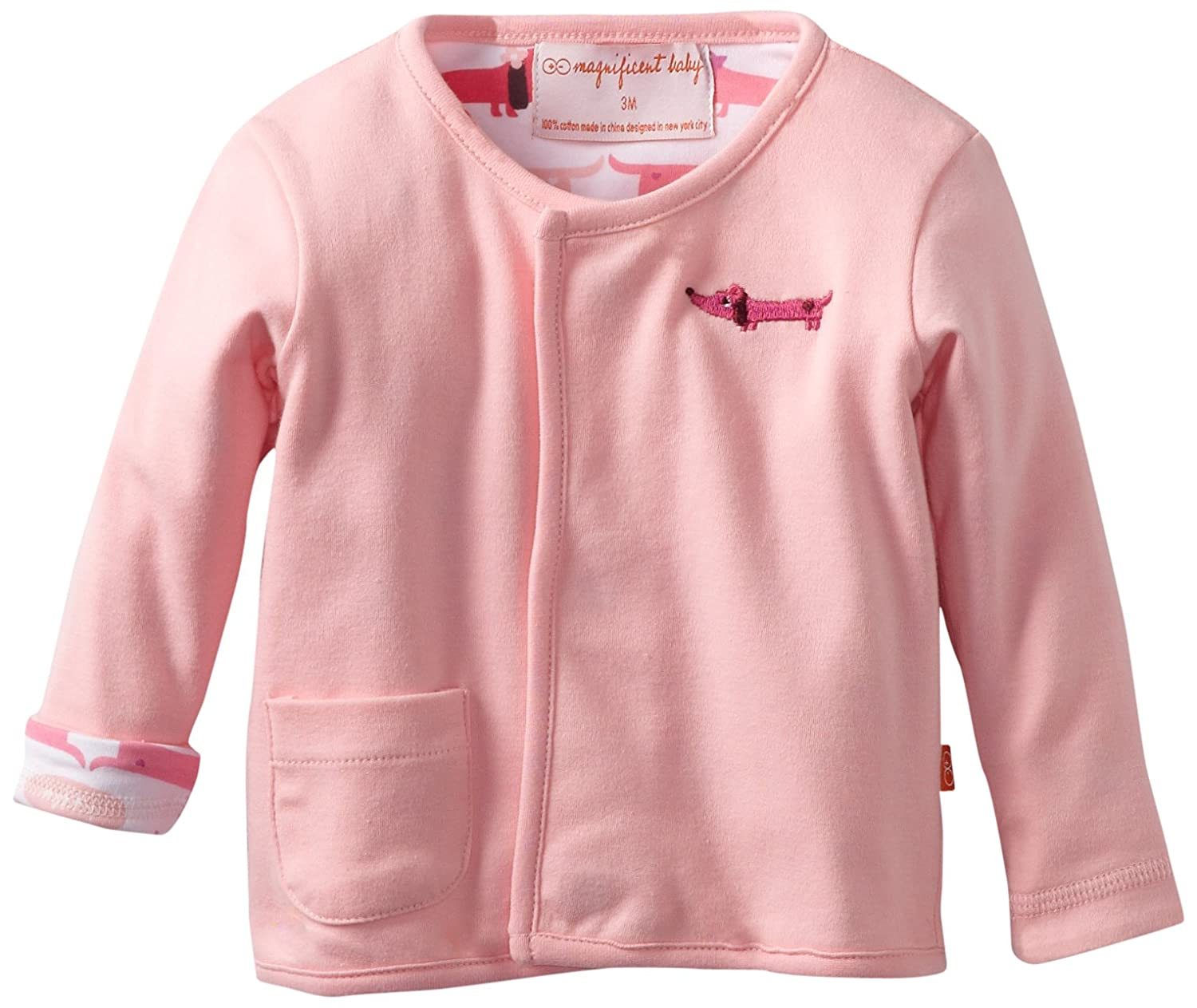 Magnificent Baby Girls Newborn Reversible Cardigan Magnificent Baby Baby