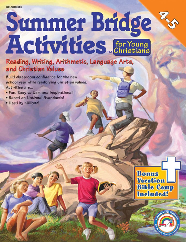 Summer Bridge Activities for Young Christians (Summer Bridge Activities)(4-5) by Carson-Dellosa