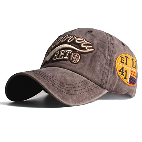 New Baseball Cap for Men Woman hat Bone Gorras para Hombre beisbol Discovery Embroidery Casual Casquette hat Black at Amazon Mens Clothing store: