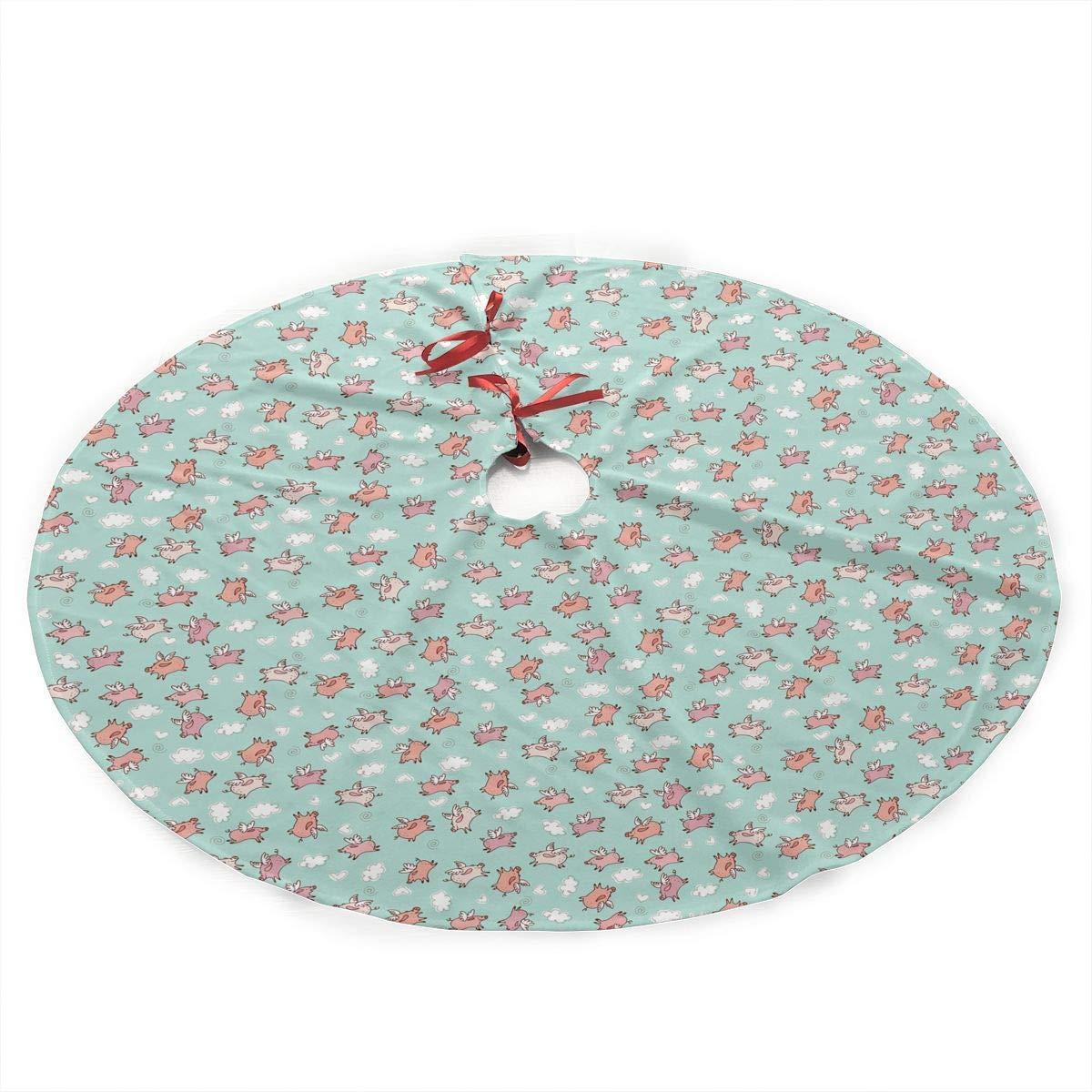 YJWLO Give Me The SUCC Falda de árbol de Navidad Feliz Navidad ...