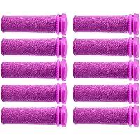 Foot Solutions Super Coarse Emjoi Micro Mineral Replacement Rollers Compatible with Emjoi Micro-Pedi Callus Remover (10…