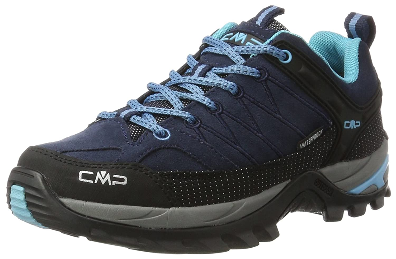 Bleu (B.bleu-clorphilla 82bd) 37 EU CMP Rigel Faible, Chaussures de Randonnée Basses Femme
