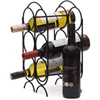 Quality 6 Bottle Metal Wine Rack