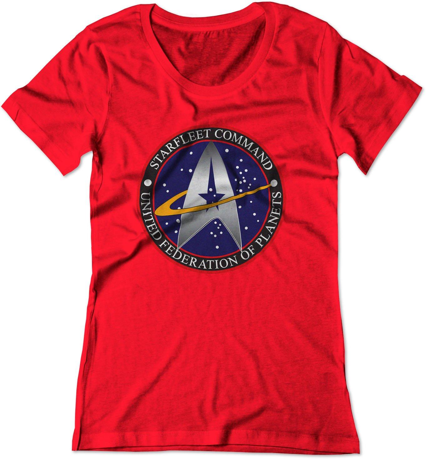 Star Trek Starfleet Command Logo Ufp Shirt 1599