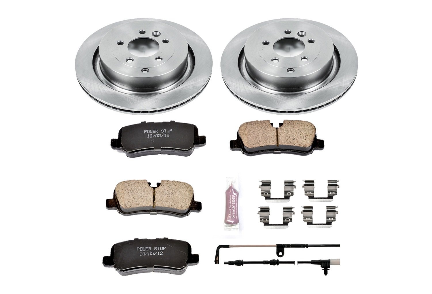 Autospecialty (KOE4618) 1-Click OE Replacement Brake Kit by Power Stop (Image #1)