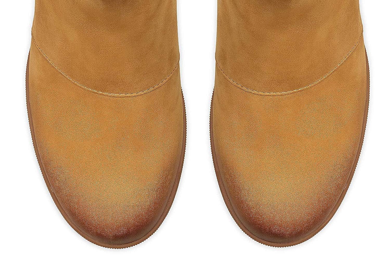 Sorel Womens Joan of Arctic Wedge II Chelsea Waterproof Boot Camel BRN 8.5 Medium US