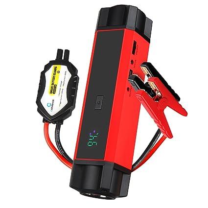 1000A Arrancador de Coche, Jump Starter 54000mwh, Bateria Cargador Externa Banco de Energía