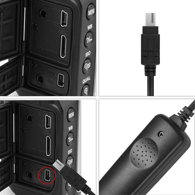 SHOOT MC-DC2 Temporizador Cable del Disparador Remoto del de Pantalla LCD para Nikon D90 D600 D610 D3100 D3200 D3300 D5000 D5100 D5200 D5300 D7000 C/ámara Digital SLR