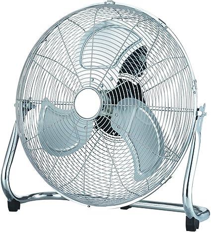 Pavo – Ventilador de suelo 18 Ventilador Aire enfriador Ventiladores silenciosa Altura 50 cm/Silencioso Ventilador de