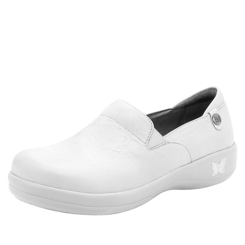 Alegria de la Mujer Keli Profesional Zapatos 43 M EU|White Tooled