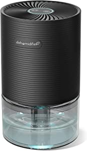 AUZKIN Dehumidifier 26oz(750ml) Small Dehumidifier Portable and Quiet Dehumidifiers for Basements, Home, Bedroom, Bathroom, Garage, Wardrobe, RV