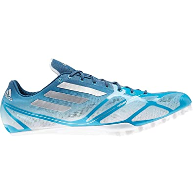 the latest e6e32 6f7d2 adidas adiZero Prime Finesse Spikes Mens Track Shoe 13 Solarblue-Black