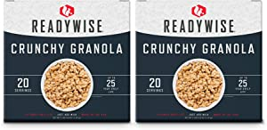 ReadyWise Emergency Food Breakfast Box Kit | 40 Servings