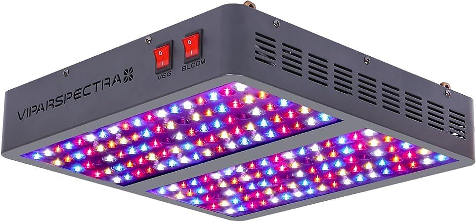 VIPARSPECTRA Reflector 900W LED Grow Light LED Pflanzenlampe Full Spectrum wachsen für Zimmerpflanzen Gemüse und Blumen