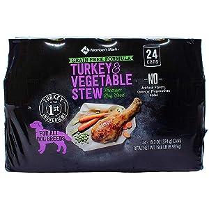 Member's Mark Member's Mark Grain Free Turkey & Vegetable Stew Premium Dog Food (13.2 Oz., 24 ct.), 13.2 Fl Oz