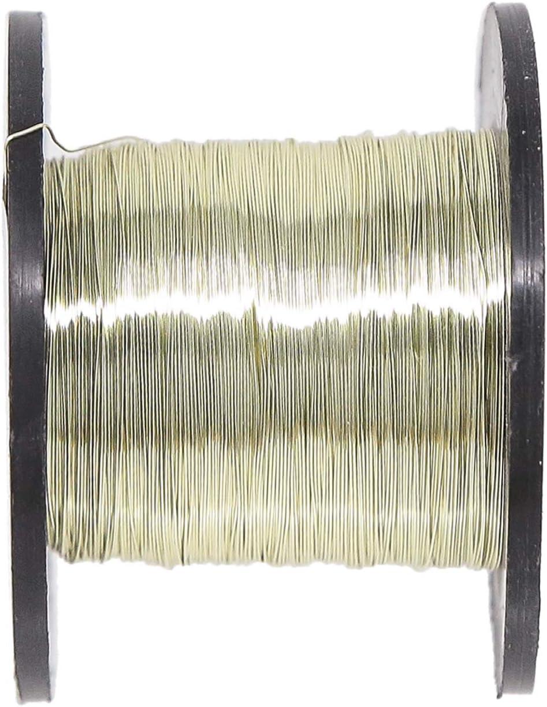 0,2 mm x 175 m Hellgold Specialist Crafts Emaillierter Draht