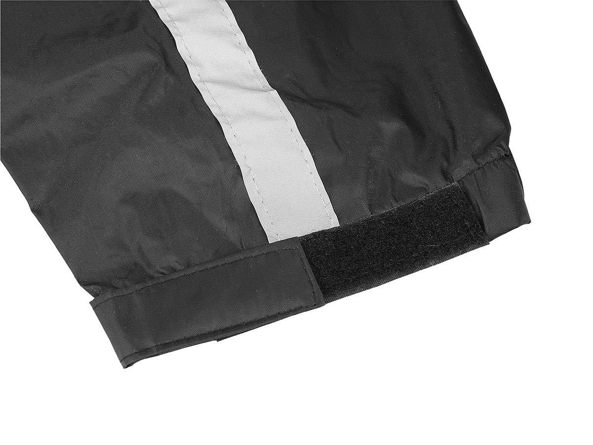 Nelson-Rigg Stormrider Rain Suit Black//Orange, Small