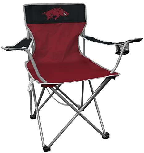 Rawlings NCAA Portable Folding Kickoff Chair With Cup Holder And Carrying  Case