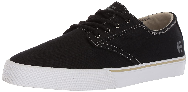 Etnies Men's Jameson Vulc LS Skate Shoe 10 D(M) US|Black/White/Grey