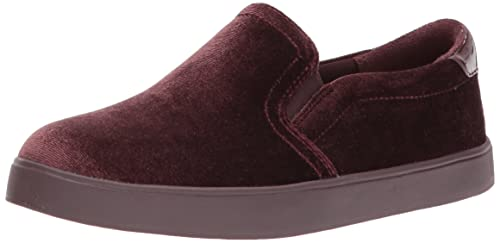 Dr. Scholl's Women's Madison Fashion Sneaker, Merlot Velvet, 8.5 M US