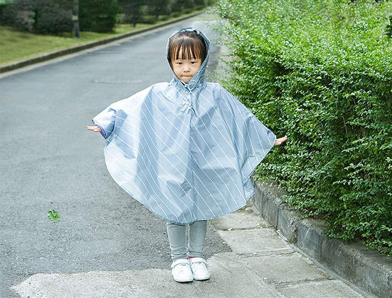 Waterproof Rainwear Hood Jacket Outdoor Cycling Rain Cape Children Kids Rain Poncho Baby Traveling Raincoat Cape