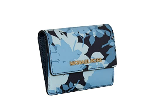 76931a3b0 Image Unavailable. Image not available for. Color: MICHAEL Michael Kors  Women's Jet Set Travel Card Case ID Key Holder ...