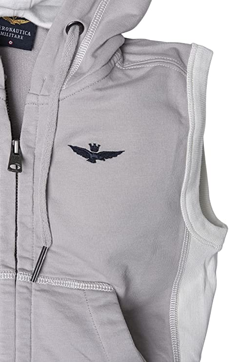 Aeronautica Militare Felpa Uomo Grau m: Amazon.it