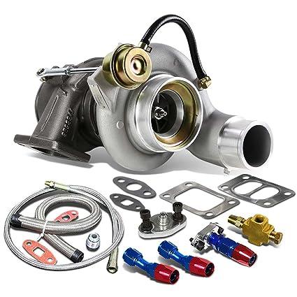 Amazon.com: For Dodge Ram 6BT 5.9L HY35W T3 Twinscroll Turbocharger w/Internal Wastegate+Oil Feed+Drain Line: Automotive