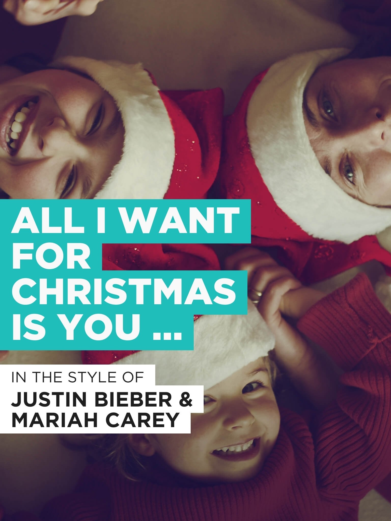 Amazon.com: All I Want For Christmas Is You (Duet): Justin Bieber ...