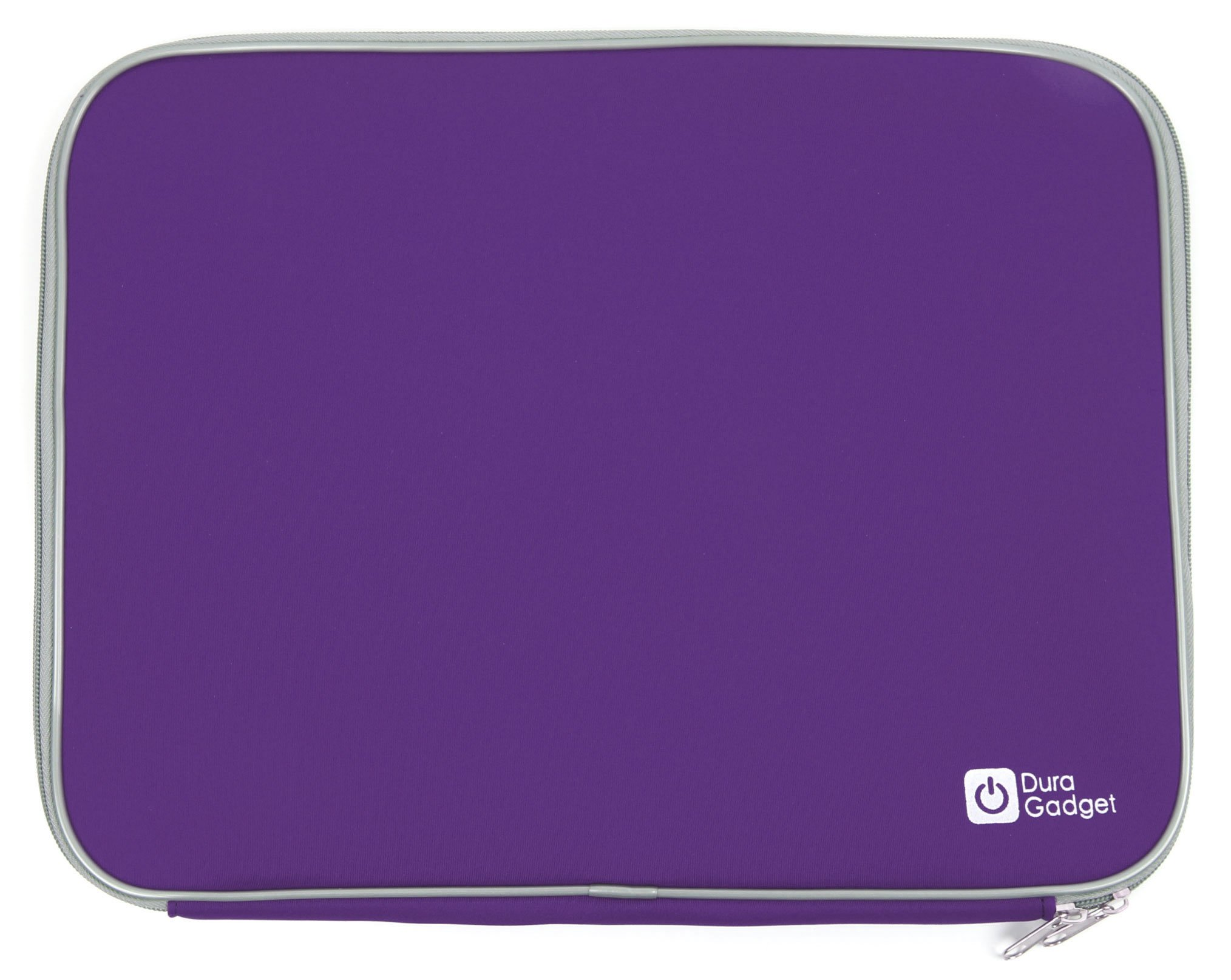 DURAGADGET Purple Travel Water Resistant & Shock Absorbent Neoprene Laptop Sleeve with Dual Zips Compatible with The Lenovo Ideapad 110 15'' | Ideapad 305 15.6'' Laptop by DURAGADGET (Image #6)