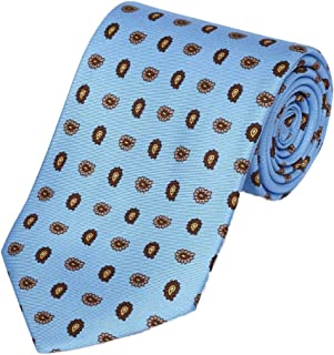 product image for Gitman Bros Blue Twill Neat Tie