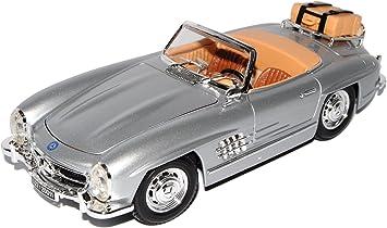 Mercedes Benz 300sl 300 Sl Silber 1 18 Bburago Burago Modellauto Modell Auto Sonderangebot Spielzeug