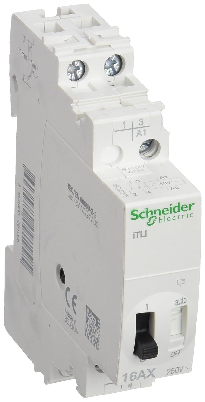 Schneider elec pbt - dit 48 06 - Telerruptor itli 1 polo 16a 48vca 24v corriente continua