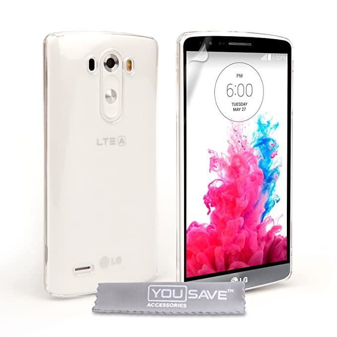 carcasa de la caja Yousave Accesorios duro para LG G3 ...