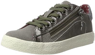 s.Oliver Jungen 43101 Sneaker, Grau (Grey), 31 EU