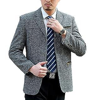27cddb431eda Huixin Men's Blazer Blazer Leisure Business Wool Suit Jacket Suit Party  Casual Classic Mens Men's Slim