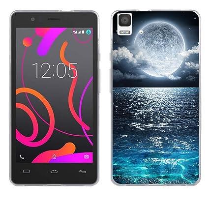 Amazon.com: BQ Aquaris E5 4G Case Cover, FUBAODA [Drop ...