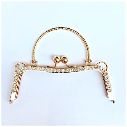 433b332e49 Image Unavailable. Image not available for. Color  Ownstyle 20cm Metal  Purse Frame ...
