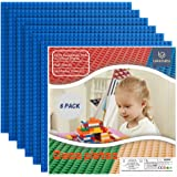 """Lekebaby Baseplates Classic Building Base 10""""x10"""" Large Building Board Base Plates, 100% Compatible with All Major…"""